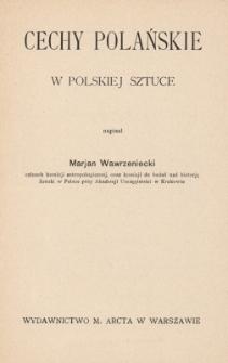Cechy polańskie w polskiej sztuce