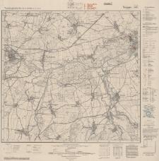Neisse West. Topographische Karte 1: 25 000