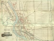 Plan der Stadt Oppeln