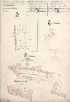 Ergänzungskarte N° 163. Kataster-Verwaltung Etatsjahr 1912. Kreis LeobschützN° 47