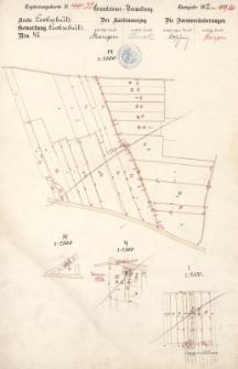 Ergänzungskarte N° 32. Grundsteuer- Verwaltung. Etatsjahr 1885/86. Kreis Leobschütz N° 47