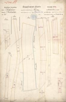 Supplement-Karte Grundsteuer- Verwaltung N° 19. Steuerjahr 1878/79. Kreis Leobschütz N° 47