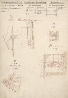 Ergänzungskarte N° 134. Grundsteuer- Verwaltung. Etatsjahr 1906. Kreis Leobschütz Stadt N° 47