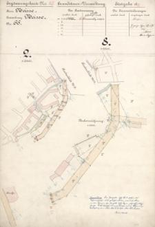 Ergänzungskarte N° 85. Grundsteuer-Verwaltung. Etatsjahr 1896/97.Kreis Neisse N° 66.