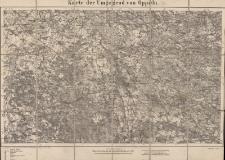 Karte der Umgegend von Oppeln