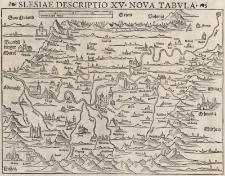 Slesiae Descriptio XV Nova Tabula