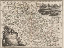 Le Duche De Silesie divisé en XVII. Principautées á Paris Par et chez le S.r le Rouge Ing.r Geog. rue des Augustins Avec Priv. Du Roi 1743