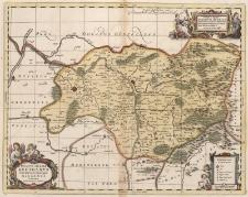 Ducatus Silesiae Grotganus cum Districtu Episcopali Nissensi Delineatore Iona Scvlteto, Silesio