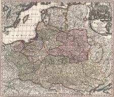 Poloniae Regnum ut et Magni Ducatus Lithuaniae Accuratiss. Delineatione Repraesentat Opera et Studio Matth. Seutteri Sac. Caes.Maj.Geogr. Aug.