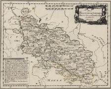 Das Herzogthum SchlesienPreussischehn und Östreichischen Antheils Nro. 105