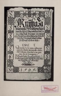 Das schwarze Buch von Gleiwitz. T. 1