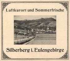 Luftkurort und Sommerfrische Silberberg i. Eulengebirge