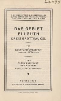 Flora und Fauna des Wassers, Tl.1