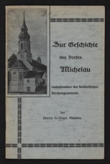 Zur Geschichte des Dorfes Michelau insbesondere der katholischen Kirchengemeinde