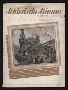 Schlesische Stimme, Jg.23. Heft 4/5. April/Mai 1941