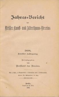 Jahresbericht des Neisser Kunst- und AlterthumsVereins 1898