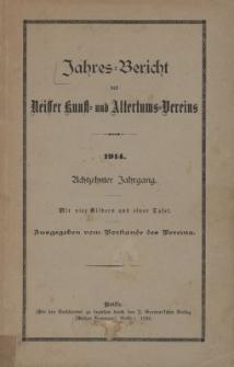 Jahresbericht des Neisser Kunst- und AltertumsVereins 1914