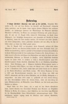 Schlesiens Vorzeit Bd.7, No2: 1897