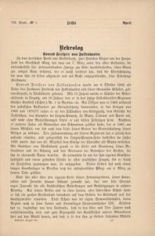 Schlesiens Vorzeit Bd.7, No3: 1898