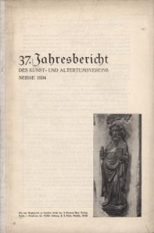Jahresbericht des Neisser Kunst- und AltertumsVereins 1933: Jg.37