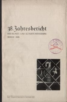 Jahresbericht des Neisser Kunst- und AltertumsVereins 1934: Jg.38