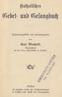 Katholisches Gebet- und Gesangbuch