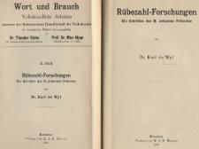 Rübezahl-Forschungen : die Schriften des M. Johannes Prätorius