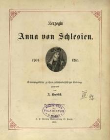 Herzogin Anna von Schlesien : 1204-1265