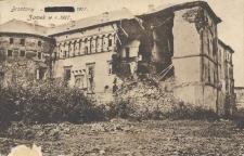 Brzeżany : zamek w r. 1917