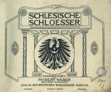 Schlesische Schlösser. Bd. 1