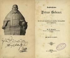 Archidiakonus Petrus Gebauer : ein Zeit- und Lebensbild aus der schlesischen Kirchengeschichte des 17. Jahrhunderts