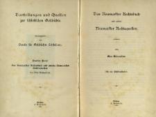 Darstellungen und Quellen zur Schlesischen Geschichte. Bd. 2. Das Neumarkter Rechtsbuch und andere Neumarkter Rechtsquellen