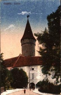 Opole : Zamek Piastowski od strony mostu