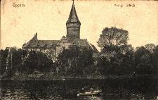 Opole : południowa strona zamku