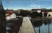 Opole : Most Stulecia - widok w stronę Zaodrza