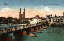 Opole : Oderbrücke und kath. Kirche
