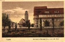 Oppeln : Blick auf die Oberrealschule und neue kath. Kirche