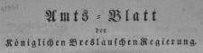 Amtsblatt der Königlichen Breslauschen Regierung. Stück 16