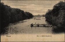 Nysa : widok z mostu Berlińsk-Nyskiego, dziś mostu Kościuszki