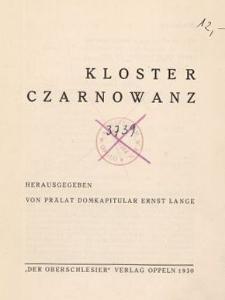 Kloster Czarnowanz