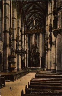 Nysa : wnętrze kościoła pw. św. Jakuba St. i św. Agnieszki - nawa główna po renowacji