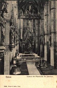 Nysa : wnętrze kościoła pw. św. Jakuba St. i św. Agnieszki