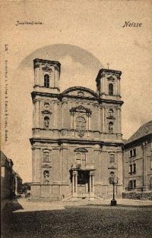 Nysa : kościół jezuicki (obecnie Wniebowzięcia NMP)