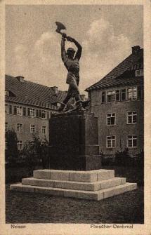 "Nysa : pomnik ""rzeźnika"""