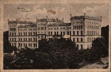 Nysa : budynek szkoły wojskowej