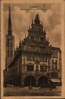 Nysa : m.in. Dom Wagi, wieża ratusza