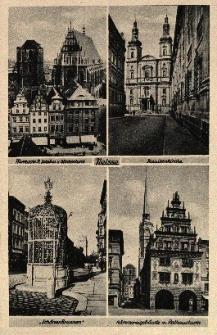 Nysa : kościół pw. św. Jakuba i św. Agnieszki oraz dzwonnica, kościół Wniebowzięcia NMP, studnia miejska, Dom Wagi i wieża ratusza