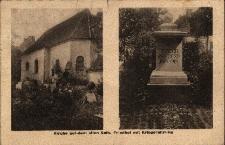 Brzeg : kościół cmentarny i pomnik ku czci poległych w I Wojnie Światowej