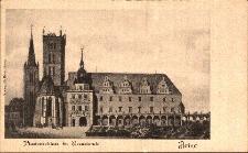Brzeg : zamek i kościół kolegiacki pw. św. Jadwigi - rekonstrukcja renesansowego wyglądu