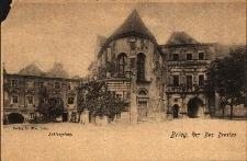 Brzeg : fronton zamku i kościoła pw. św. Jadwigi